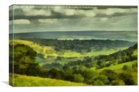 Bishopdale Painting, Canvas Print