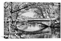 Stanley Park Bridge ~ Infra Red ~, Canvas Print