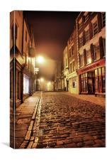 Whitby @ 4a.m., Canvas Print