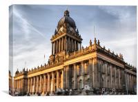 Leeds Town Hall, Canvas Print