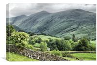 Helvellyn - The Lake District, Canvas Print