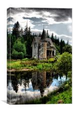 The Secret Fairytale Gatelodge, Canvas Print