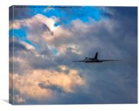 Vulcan Departure, Canvas Print