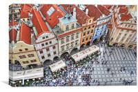 Prague, Canvas Print