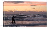 Fishing, Canvas Print