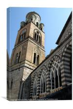 Duomo di Amalfi, Canvas Print