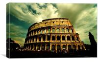 Colosseum - Rome, Canvas Print
