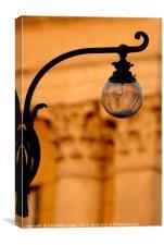 Street Lamp - Verona, Canvas Print