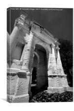 Arco dei Gavi, Verona, Canvas Print