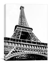 Eiffel Tower, Canvas Print