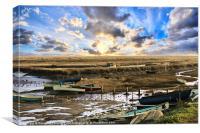 Morston Quay., Canvas Print