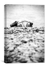 Boat on Beach, Canvas Print