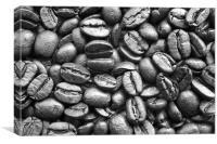 COFFEE BEANS, Canvas Print