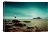 Penmon Lighthouse, Anglesey, Wales, Canvas Print