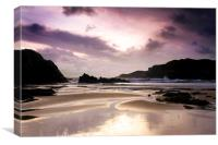 Trearddur Bay on the north of Anglesey, Wales, Canvas Print