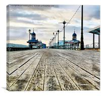 The Boardwalk, Canvas Print