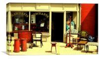 The Old Curiosity Shop, Canvas Print