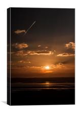Anglesey Sunset, Canvas Print
