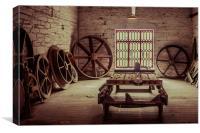 The Wheel House, Canvas Print