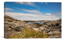 Trearddur, Canvas Print