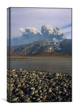 Volcano - Iceland 2, Canvas Print