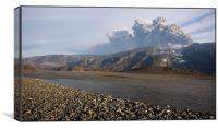 Volcano - Iceland, Canvas Print