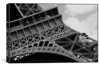 La Tour Eiffel, Canvas Print
