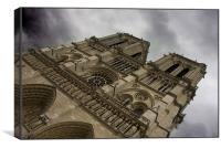 Notre Dame - Paris, Canvas Print