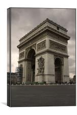 Arc de Triomphe, Canvas Print