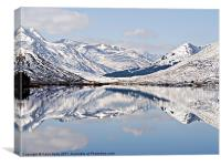 Winter Reflections, Canvas Print
