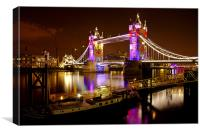 Tower Bridge - New Clothes, Canvas Print