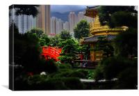 Gardens of Nan Lian, Canvas Print