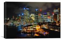 Sydney Circular Quay, Canvas Print