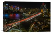 Sydney Rush Hour, Canvas Print