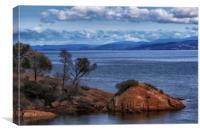 Honeymoon Bay Freycinet Tasmania, Canvas Print