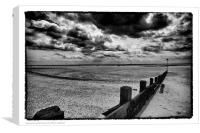 Southend on Sea, Canvas Print