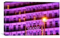 The Grand Hotel, Brighton UK, Canvas Print