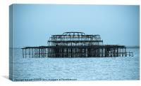 Brighton's West Pier, Canvas Print