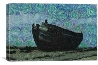 Old Fishing Boat, Canvas Print