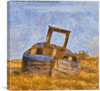 Gone Fishing, Canvas Print