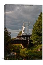 The Rye Windmill, East Sussex. 3, Canvas Print