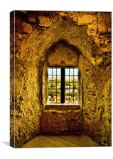 Saxon View, Lewes Castle 2, Canvas Print