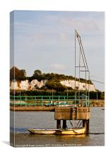 Medway Boats in the Sunshine, Canvas Print