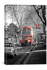 London RT Red Bus, Canvas Print
