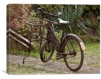 Vintage Bike, Canvas Print