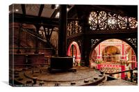 Crossness Pumping Station, Canvas Print