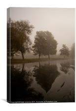 Misty Reflections, Canvas Print