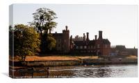 Hampton Court Palace, Canvas Print