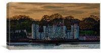 Upnor Castle Kent Sunset, Canvas Print