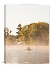 Henley on Thames Rower, Canvas Print